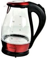 Стеклянный электрочайник Kingberg KB-2031 (1.7 л)   электрический чайник   чайник с подсветкой Кингберг
