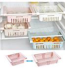 ОПТ Растягивающаяся подвесная стойка Strechable Hanging Storage Rack для хранения продуктов в холодильнике, фото 3