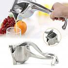 ОПТ Соковижималка ручна для фруктів з затиском Hand Juicer універсальний прес для фруктів, фото 2