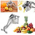 ОПТ Соковижималка ручна для фруктів з затиском Hand Juicer універсальний прес для фруктів, фото 3