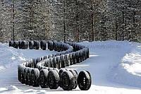 Зимние шины б/у