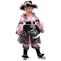 Детский Карнавальный Костюм Пиратка Розовая