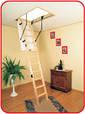 Чердачная лестница (с люком) деревянная, фото 3