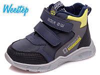 Демисезонные ботинки для мальчика Weestep р. 22 (14 см), 24 (15,5 см)