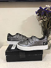 Мокасини/ сліпи / кеди /сліпони жіночі DKNY Savi Velcro Sneaker 40.5 / 40
