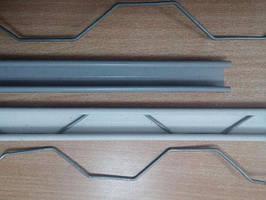 Універсальний пружинний профіль зигзаг 25мм*0,5 мм