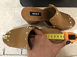 Мюли/ туфлі на підборах/ шльопанці /сланці жіночі DKNY hes mule w / studs 8 38, фото 8