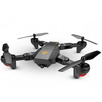 Квадрокоптер дрон селфи Phantom D5HW Pro c Wifi камерою NEW VERSION Чорний, фото 1