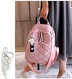 Рюкзак дівчина Нейлонова Рюкзак жіночий новий стильний універсальний шкільний Жіночий рюкзак дорожній опт, фото 3