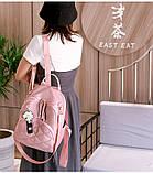 Рюкзак дівчина Нейлонова Рюкзак жіночий новий стильний універсальний шкільний Жіночий рюкзак дорожній опт, фото 2