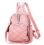 Рюкзак дівчина Нейлонова Рюкзак жіночий новий стильний універсальний шкільний Жіночий рюкзак дорожній опт, фото 4