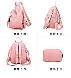 Рюкзак дівчина Нейлонова Рюкзак жіночий новий стильний універсальний шкільний Жіночий рюкзак дорожній опт, фото 5