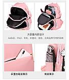 Рюкзак дівчина Нейлонова Рюкзак жіночий новий стильний універсальний шкільний Жіночий рюкзак дорожній опт, фото 10