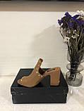 Мюли/ туфлі на підборах/ шльопанці /сланці жіночі DKNY hes mule w / studs 8 38, фото 2