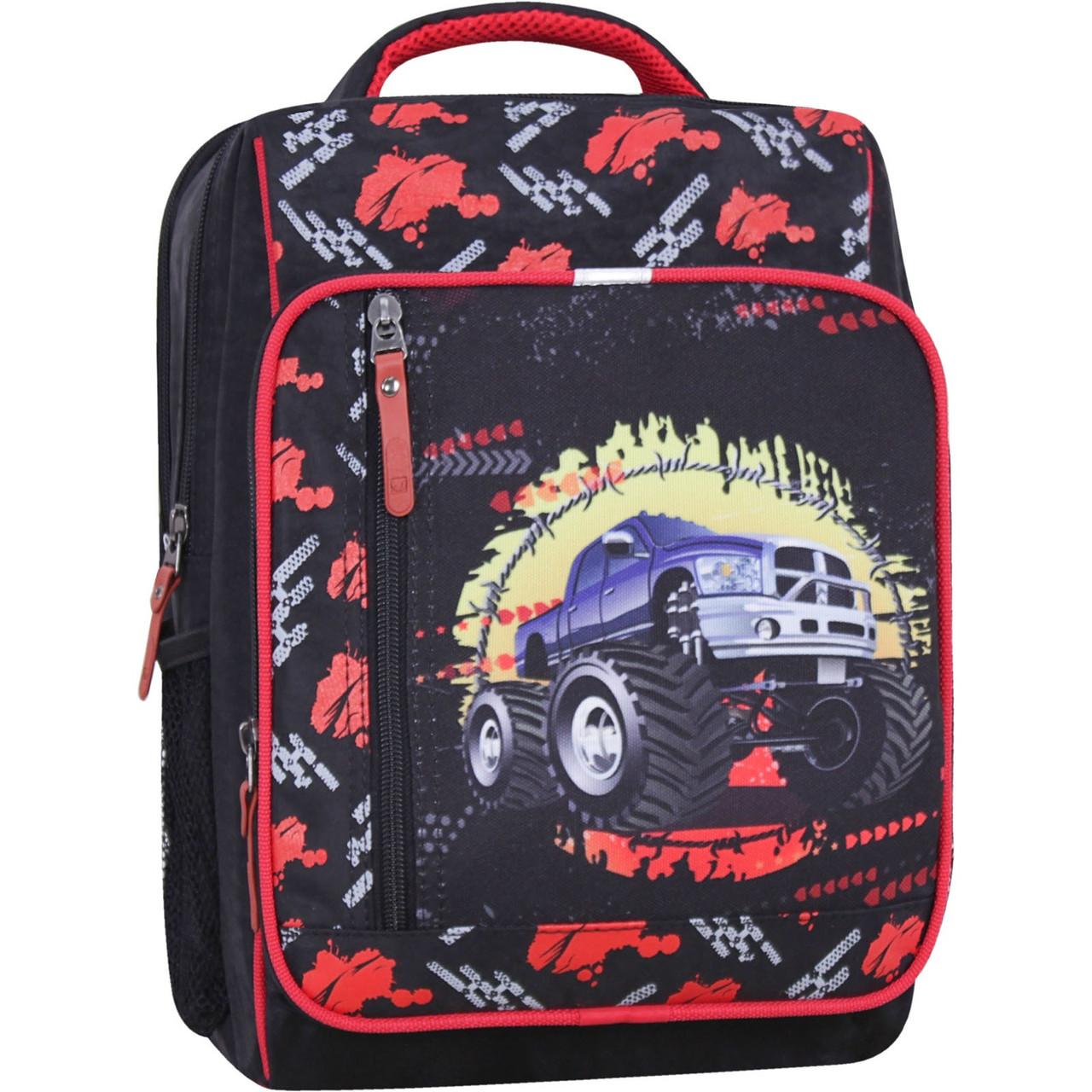 Школьный рюкзак ортопедический для мальчика портфель в 1-3 класс Bagland 660 (0012870)