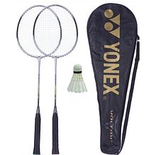 Набір для бадмінтону 2 ракетки в чохлі Yonex NanoSpeed+ воланчик в подарунок