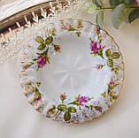 Винтажная фарфоровая тарелочка, блюдце для колец, розетка для варенья от Chodziez, Польша, фото 2