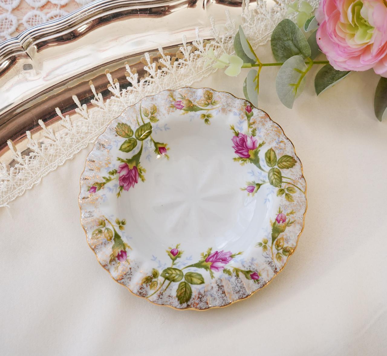 Винтажная фарфоровая тарелочка, блюдце для колец, розетка для варенья от Chodziez, Польша