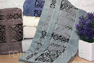 Банные турецкие полотенца Regnum zigzag