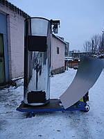Бытовой твердотопливный котел длительного горения PlusTerm Хром 32 кВт, котлы ПлюсТерм.