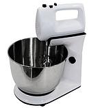 Міксер з чашею DSP KM3015 кухонний 300Вт   Стаціонарний міксер-тістоміс, фото 2