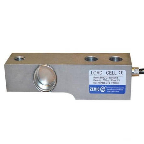 Тензодатчик веса Zemic BM8D-C5-7.5T/10-6B, фото 2
