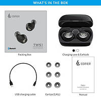 EDIFIER TWS1 AptX беспроводные TWS наушники Bluetooth 5.0 2 цвета