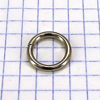 Кольцо 10*2 мм никель для сумок a5700 (500 шт.)