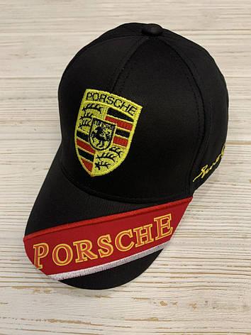 Кепка детская для мальчика  Porsche р. 48-50 ХБ, фото 2