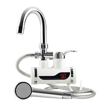 Проточный водонагреватель (боковое подключение)