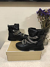 Черевики \ шкіряні чоботи \ шкіряні черевики \ високі чоботи Michael Kors Cassia Bootie 38
