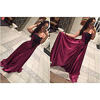 Шикарное вечернее платье, фото 1