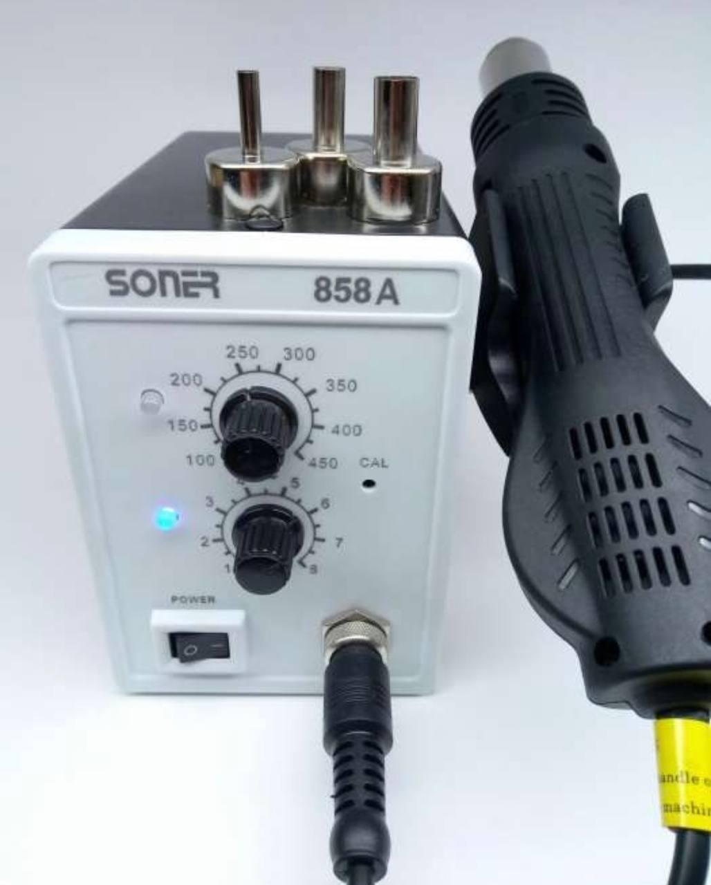 Паяльна станція термовоздушная Soner 858а 700 Вт