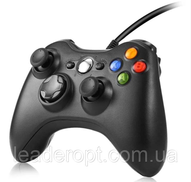 ОПТ Дротовий джойстик геймпад Microsoft Xbox 360 + PC