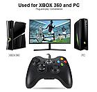 ОПТ Проводной джойстик геймпад Microsoft Xbox 360 + PC совместим с ПК Windows с 10 кнопками, фото 2
