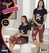 Комплект 2-ка футболка с лосинами качество лайкра Night Аngel № 9641