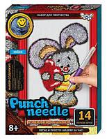 "Набор для творчества Punch Needle ковровая вышивка ""Зайка"" PN 01-10"