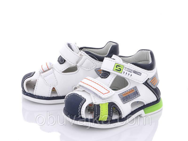 Дитяче літнє взуття 2021 оптом. Дитячі босоніжки бренду CBT T для хлопчиків (рр. з 19 по 24)