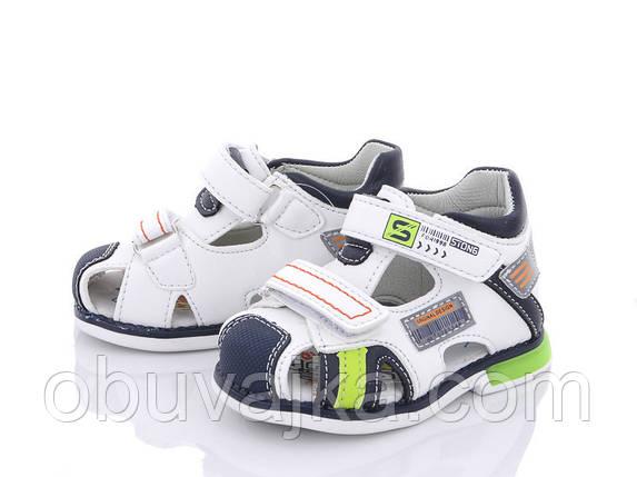 Дитяче літнє взуття 2021 оптом. Дитячі босоніжки бренду CBT T для хлопчиків (рр. з 19 по 24), фото 2