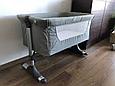Доставне Ліжко-люлька Ліжко для новонародженого Milly Mally Side by Side, фото 9