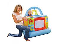 Манеж детский надувной квадратный Intex 48473