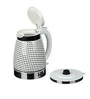 Керамический электрический чайник A-PLUS 2147 Белый