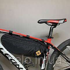 Містка велосипедна сумка B-Soul під раму велосипеда