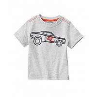 Crazy8 футболка для мальчика серая с машиной
