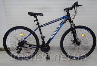 """Горный велосипед Azimut Aqua 27,5"""" G-FR/D (17) черно-синий"""