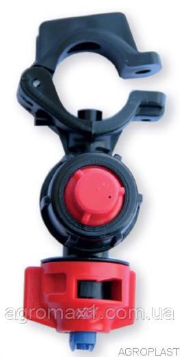 Форсунка опрыскивателя на трубу 22 мм Agroplast