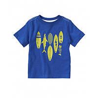 Crazy8 футболка для мальчика синяя Surfboard