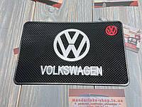 Антискользящий коврик на панель авто Volkswagen (Фольксваген)