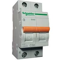 Автомат 2П 32A C Schneider Electric Домовой 11216