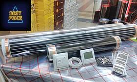 Інфрачервона тепла підлога 5 м. кв + терморегулятор